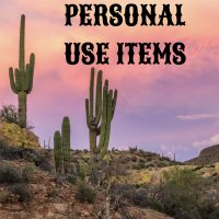 PERSONAL USE ITEMS